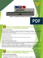 9na y 10ma RÉGIMEN DISCIPLINARIO EN LA FUNCIÓN POLICIAL - LEY (1).pptx