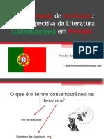 A Nova Geração de Escritores da literatura portuguesa