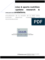 ISSN Exercise & Sports Nutrition Review Update_ Research & Recommendations Traducido