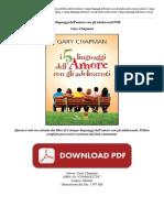 Cinque Linguaggi Dell Amore Gary Chapman 59Y42OK89J