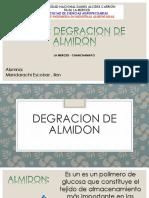 Degradacion de Almidon