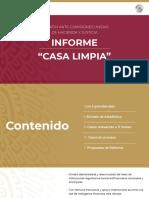 "Informe ""Casa Limpia"""