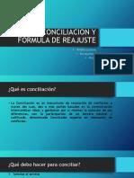 Conciliacion y Fórmula de Reajuste