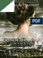 Donde Braman Los Vientos- Constanza Chesnott
