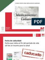 MEDICAMENTO CADUCO