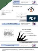 Conductores, Empalmes y Accesorios Para Lineas Subterraneas de At
