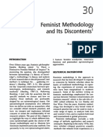 Feminist Methodology and Its Discontents - Nancy a. Naples