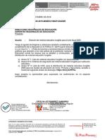 Oficio Múltiple N° 0105-2019-MINEDU-VMGP-DIGEBR-1