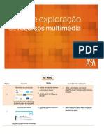 Guia de Exploração de Recursos Multimédia - 8.º Ano