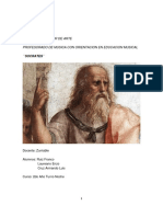 Monografia filosofia