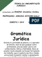 Gramática Juridica