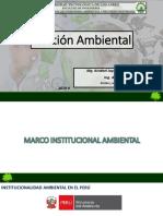 Marco Institucional Ambiental