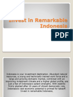 Invest in Remarkable Indonesia