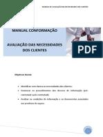 M3 - Manual de Avaliação Das Necessidades Dos Clientes