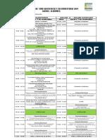 Agenda Académica Jornadas Geotecnicas y Estructurales