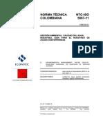 NTC-ISO5667-11