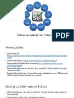 Selenium Installation