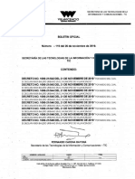 Boletin Oficial 119 Del 26 de Noviembre de 2019