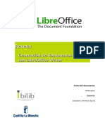 Generar cartas OpenOffice