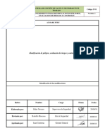 P-01 Identificación de Peligros, Evaluación de Riesgos. V1