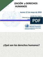Derechos humanos y globalización U.Central mayo2010