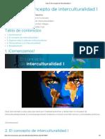 Clase 3_ El Concepto de Interculturalidad I