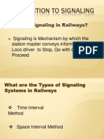 Signals in Railway