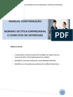 M4 - Manual de Normas de Ética Empresarial e Conflitos de Interesses