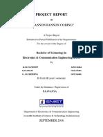 Project Report Shannon Fannon Coding a p
