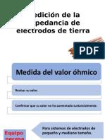 Medición de La Impedancia de Electrodos de Tierra