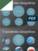 5 accidentes geograficos