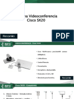 Cámara Telepresencia Guia Rapida Codec SX20