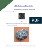 Klasifikasi Batuan Beku Berdasarkan Kimiawi
