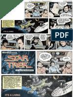 08 Star Trek Comic Strip US - Its a Living