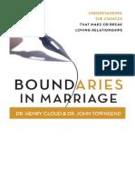 [2001] Boundaries in Marriage by Dr. Henry Cloud |  | Zondervan