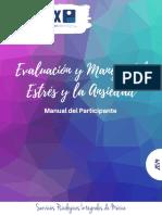 Manual del Participante Evaluación y Manejo del Estrés y la Ansiedad