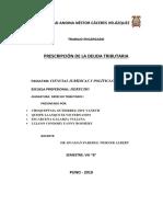 PRESCRIPCION DE LA DEUDA TRIBUTARIA..docx
