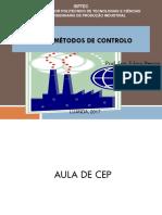 Aula CEP.  MÉTODOS DE CONTROLO. 2019