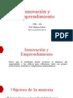 Innovación y Emprendimiento - Innovación CSH 103 Mayo 2019