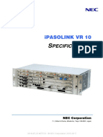 IPASOLINK VR10 Specifications