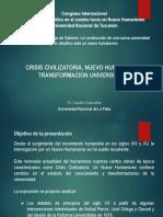Presentacion UN Tucuman - Congreso Nuevo Humanismo 2019