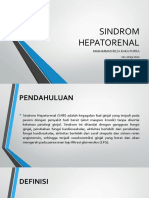 TBR - Sindrom Hepatorenal