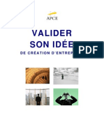 Valider Son Idee Creation Entreprise 2007.15819