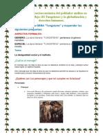 Problemática Socioeconómica Del Poblador Andino en La Obra de Vallejo