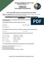 Laboratorio Matematicas II Examenes Extraordinarios