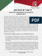 Instructivo aguinaldo 2019