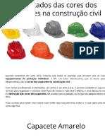 Significados das Cores dos Capacetes na Construção Civil