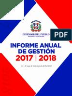 Informe de Gestion 2017-2018