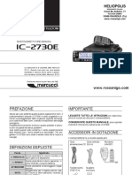 ICOM IC2730 Manuale Italiano 2