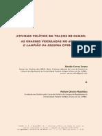 Ativismo político em traços de humor - as charges veiculadas no jornal O Lampião da Esquina (1978-1981).pdf